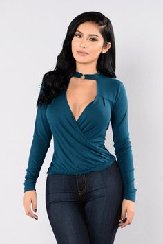 bf74e84d47f Deep Down Low Top - Moroccan Blue Crop Top Shirts