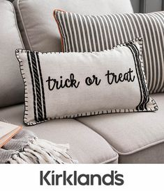 Trick or treat 🎃 We are loving our new Halloween pillows! Tap to shop. Holidays Halloween, Spooky Halloween, Halloween Pumpkins, Halloween Crafts, Halloween Decorations, Farmhouse Halloween, Halloween Pillows, Harvest Decorations, Fabric Animals