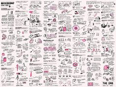 Illustrated notes taken at the Healthcare Experience Design Conference. Designing Healthcare - Cassie McDaniel