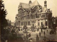 Le Ventre de Paris: Saint-Eustache cathedral provides a contrast to the modernity of Les Halles