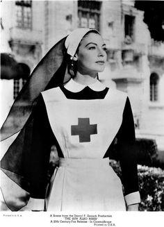 "Ava Gardner - ""The Sun Also Rises"" - Costume designer : Charles Le Maire Ava Gardner, Icu Nurse Humor, Radiology Humor, Nurse Drawing, Nurse Photos, Nurse Pics, Nurse Betty, Nurse Aesthetic, Icu Nursing"