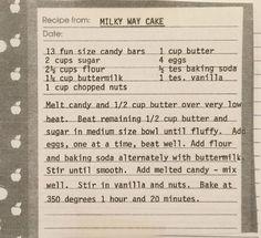 Retro Recipes, Old Recipes, Vintage Recipes, Cookbook Recipes, Sweet Recipes, Baking Recipes, Dessert Recipes, Cake Icing, Bolo De Chocolate