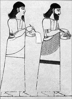 Escribas asirios