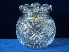 Waterford crystal biscuit barrel