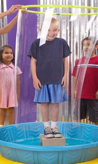 This Monstro Bubble Game is a fun kids ministry game you can use any time. Get ready to enclose kids in a human-size bubble!