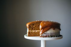 pumpkin layer cake with cream cheese frosting   My Name is Yeh