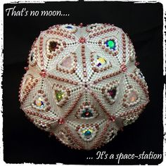 Beads By Becs - Mrs Picklefish Designs: That's no moon.... it's a space station!