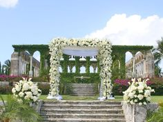 The perfect place to celebrate a union: the gardens of One & Only Ocean Club, Bahamas