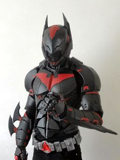 This Batman Beyond cosplay by French cosplayer NightCold Créations is something else.