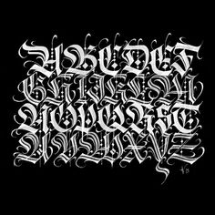 Outstanding calligraphy styles by Henrique Valente - Inspirational Calligraphy & Lettering