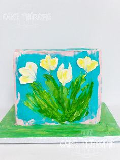 Palette Knife Painting, Custom Cakes, Create, Personalized Cakes, Personalised Cakes