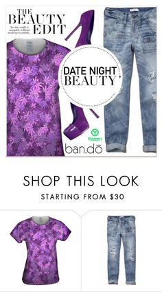 """""""The Beauty Style"""" by lucky-1990 ❤ liked on Polyvore featuring Abercrombie & Fitch, Yves Saint Laurent and ban.do"""