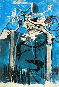 GRAHAM SUTHERLAND,  Storia segreta 1922-1979,  Accademia Ligustica di Belle Arti,  25 ottobre 1991 - 11 gennaio 1992