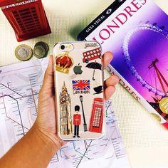 Tem como não amar Londres? Meio impossível, né?!  {case: coisas de londres} [FRETE GRÁTIS A PARTIR DE DUAS GOCASES] ❣#gocasebr #instagood #phonecase #iphone #londres #wanderlust #beautiful #inlove #minhagocase