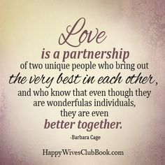 Quotes About Love : QUOTATION – Image : Quotes Of the day – Description Love is a Partnership – Happy Wives Club Sharing is Power – Don't forget to share this quote ! Marriage Prayer, Marriage Relationship, Happy Marriage, Marriage Advice, Love And Marriage, Relationships, Quotes To Live By, Love Quotes, Inspirational Quotes