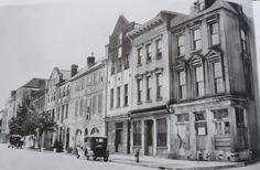 1920 Photograph of Historic Rainbow Row in Charleston, SC #rainbowrow #Charleston #historichomes