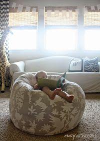 bean bag chair | DIY
