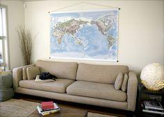 Love this massive world map!
