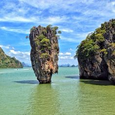 Koh Tapu in Thailand