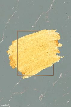 Gold paint with a golden rectangle frame on a greenish gray marble background ve. - Awesome design resources: vectors, psd, illustrations, mockups, and stock photos Framed Wallpaper, Screen Wallpaper, Golden Wallpaper, Fond Design, Web Design, Marble Wall, Gray Marble, Flower Backgrounds, Wallpaper Backgrounds