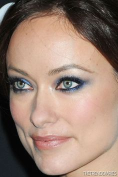 pretty eye makeup    Olivia Wilde at the New York Premiere of 'Django Unchained' at the Ziegfeld Theatre in New York City, New York - December 11, 2012