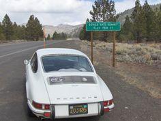 Devil's Gate Summit, (elev. 7,519) southbound on U.S. Route 395, north of Bridgeport, California.