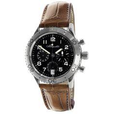 MODASELLE - Breguet Type XX Transatlantique Stainless Steel 3820 Watch, CAD $7,000.00 (http://www.modaselle.com/breguet-type-xx-transatlantique-stainless-steel-3820-watch/)