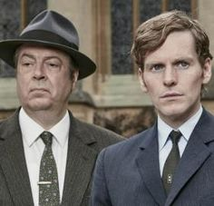 """Shaun Evans and Roger Allam looking all kinds of dapper in """"Endeavour"""" Season 3 Photo: ITV"""