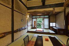 Historic ryokan room, Nikko, Japan