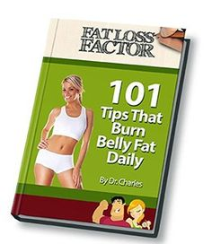 "Grab your FREE copy of my e-book called ""101 Tips That Burn Belly Fat Daily"" right now!"