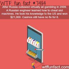 Russian engineer cheats slot machines - FACTS