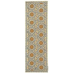Safavieh Chelsea Collection HK150A Hand-Hooked Ivory and Blue Wool Area Runner, 2-Feet 6-Inch by 8-Feet Safavieh http://www.amazon.com/dp/B002KJ78MW/ref=cm_sw_r_pi_dp_60XJwb0E8936T