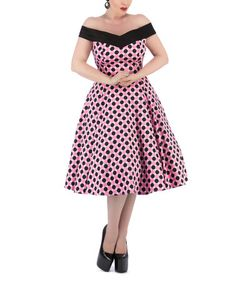 Another great find on #zulily! Pink Strawberry Shake Dress - Plus Too #zulilyfinds