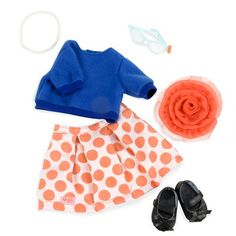 Our Generation Retro Deluxe Outfit - Skirt & Sweater : Target