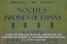 Cursos Manuel de Falla - Curso de análisis musical