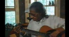 "Grammy Award Winner Elizabeth ""Libba"" Cotten (born Elizabeth Nevills) was a black American blues guitarist who invented ""cotten picking."""