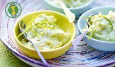 Recette Yaourt glacé à l'avocat et citron vert - recettes Les desserts - Picard
