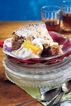 Espanjalainen mantelitorttu Recipe in 2019 Gluteeniton, osa brownie k ruoka - Brownie Fodmap, Cheesecake, Pudding, Baking, Desserts, Recipes, Food, Tailgate Desserts, Deserts