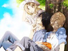 Wallpaper for Desktop: natsume yuujinchou Anime Guys, Manga Anime, Anime Art, Natsume Takashi, Hotarubi No Mori, Manga Cute, Natsume Yuujinchou, Fandom, Shoujo
