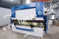 Harsle brand hydraulic press brake with system. If you are interested in it ,please contact with me. My mail:sandy Press Brake Machine, Cnc Press Brake, Hydraulic Press Brake, Machine Tools, Toy Chest, Nanjing