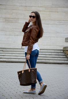 louis-vuitton-neverfull-mm-monogram-brown-shoulder-bag-tote-shopper-Louis-Vuitton-lv-