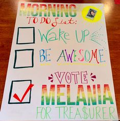 Student council treasurer poster – behavior student character student christmas gifts from teacher student council ideas student council speech student data student posters Student Council Speech, Slogans For Student Council, Student Council Campaign, Student Body President, Student Council Ideas, Vice President, School Campaign Ideas, School Campaign Posters, Campaign Slogans