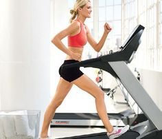 Hike It Off: Treadmill Workout from Self Magainze    Set the treadmill at 3.6 mph (brisk walk), and toggle between inclines to simulate hills.  Start on level ground.  Minutes: 2 Incline: 0  Move to hills.  Minutes: 1 Incline: 4  Minutes: 3 Incline: 8  Minutes: 2 Incline: 12  Minutes: 1 Incline: 3  Minutes: 2 Incline: 10  Minutes: 1 Incline: 12  Minutes: 4 Incline: 7  Minutes: 2 Incline: 12  Minutes: 2 Incline: 6  Total: 20 minutes