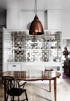 Shiny kitchen by Emma Templeton