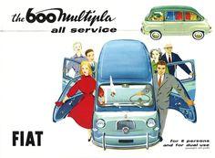 Fiat 600 Multipla brochure