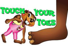 Touch Your Toes - TPR Total Physical Response for Kids