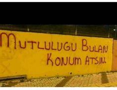 Ich schrieb an die Wand Graffiti - stille Notiz - Graffiti-Liebe # DuvaryazÄ . Wall Quotes, Book Quotes, Life Quotes, Quotes Quotes, Wall Writing, Street Graffiti, Weird Dreams, Meaningful Words, Facebook Business