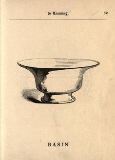 Wash basin, c. 1850