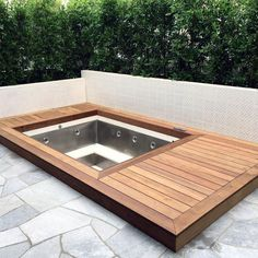 Top 80 Best Hot Tub Deck Ideas - Relaxing Backyard Designs Discover relaxing outdoor extensions of the home with the top 80 best hot tub deck ideas. Explore backyard designs made to enjoy year-round. Hot Tub Backyard, Hot Tub Garden, Small Backyard Pools, Small Patio, Inground Hot Tub, Jacuzzi Outdoor, Jacuzzi Patio Ideas, Diy Pergola, Diy Deck