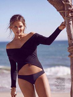 Chrissy Teigen | Elle Australia January 2017 | IMG Models